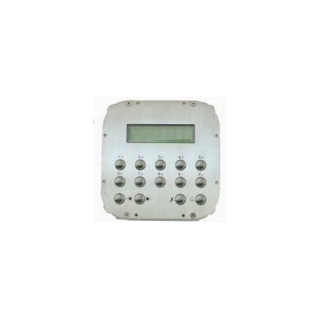 TD6100MA  Front panel with Matrix keypad