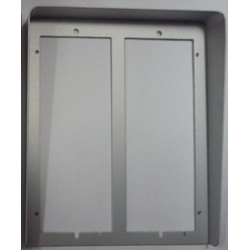 PL84 Hood cover with flush mounting frame PL72