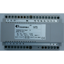 1473 4-exchange exchanger (for 4+1 and 1+1 systems)