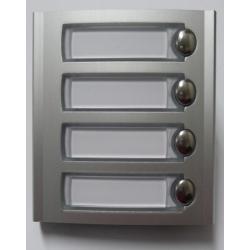 PL24S Dodatkowy panel z czterema przyciskami