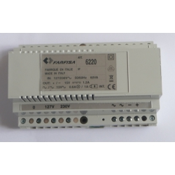 PRS6220 Zasilacz 60VA, 127/230V, 13Vac, 15Vdc