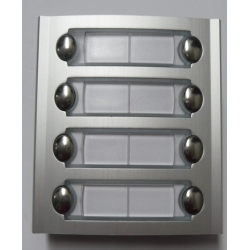 PL228 Additional panel with eight buttons