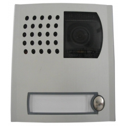 PL41PCED Profilo module with colour camera, door speaker and one button