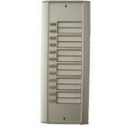 R12 Semi-modular external door station with twelve buttons