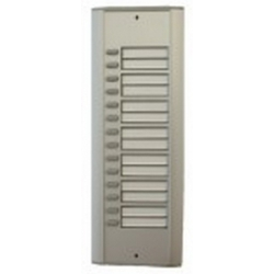 R14 Semi-modular door station with fourteen buttons