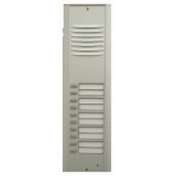 RP10 Semi-modular external audio door station with ten buttons