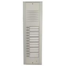 RP12 Semi-modular audio door station with twelve buttons