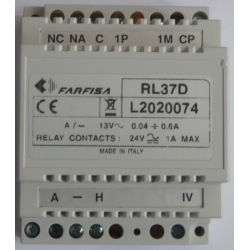 RL37D Chime driver for audio 1+1 or video 4+1installation