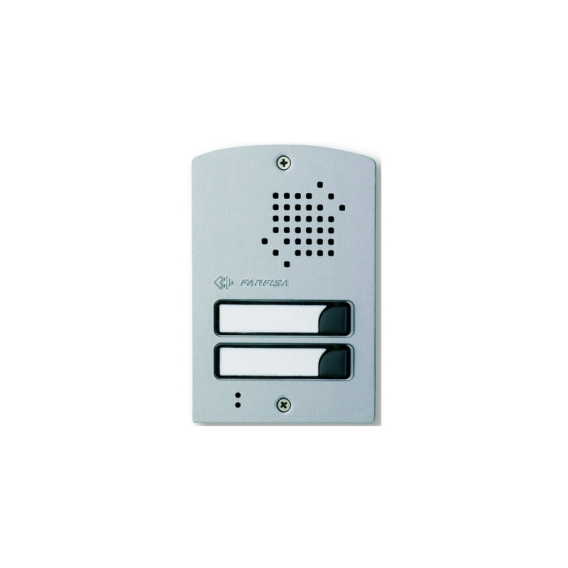 UP12D Door station with two buttons