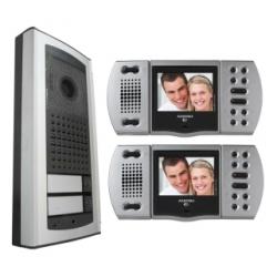 EH9161AGCT/2 Kolorowy zestaw wideodomofonowy dla dwóch rodzin Echos - Agora