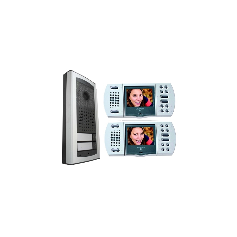 EH9161AGCW/2 Colour hands-free video kit (2 x Echos, 1 x  Agora)