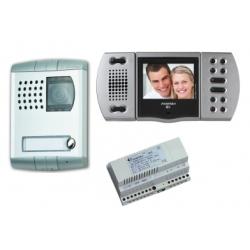 EH9161PLCT Kolorowy zestaw wideodomofonowy Echos - Profilo