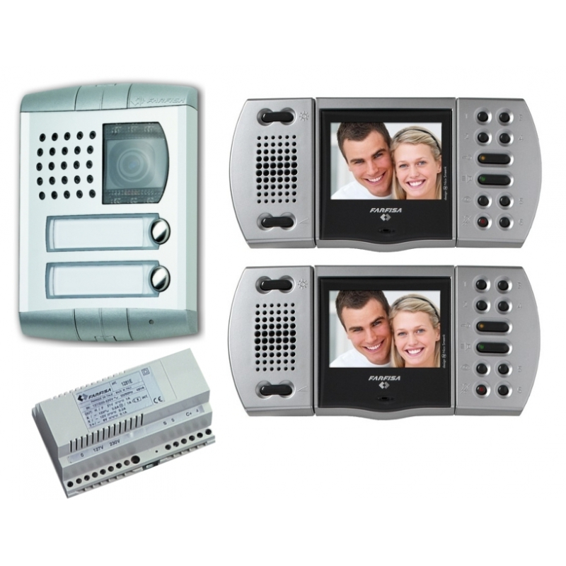 EH9161PLCT/2 Colour video intercom kit 2XEchos - Profilo
