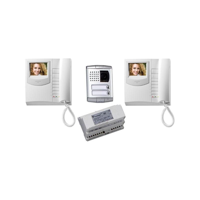 EX3161PLC/2 Colour video intercom kit 2x Exhito - Profilo