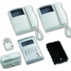 KM8111MDW/2 B/w video intercom kit 2 x Compact-Mody