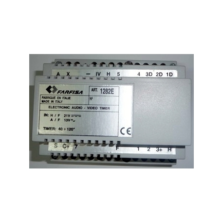 1282E  Timer audio-video to e supplied with 1281