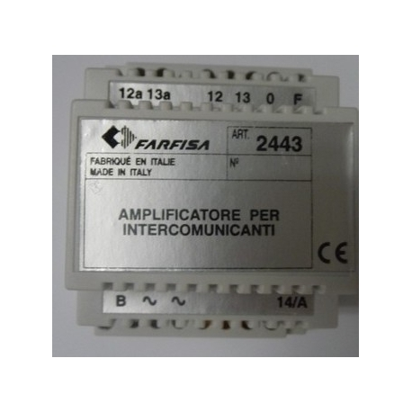 2443 Module with intercommunication function 1282E or 1382