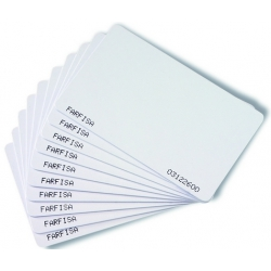 FP11/10 Lot de cartes pour lecteur de proximité