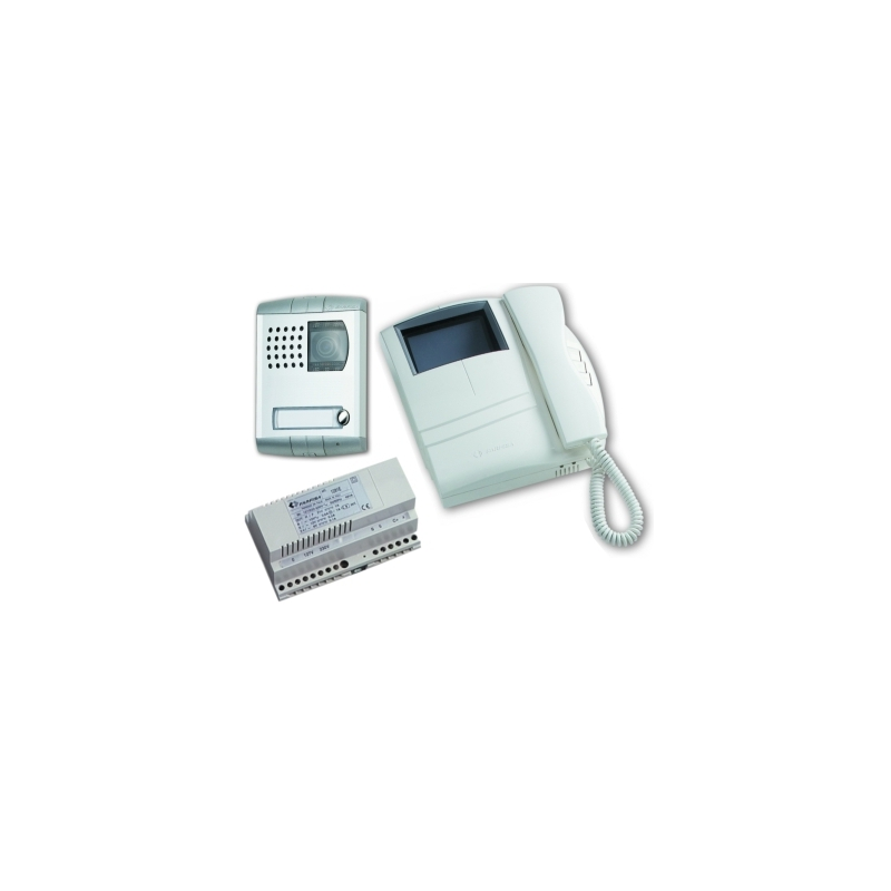 KM8100PLW B/w video intercom kit Compact - Profilo.