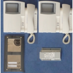 ST7100MXW/2 Double video intercom kit STUDIO