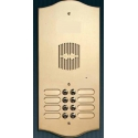 P210 Brass panel with ten buttons