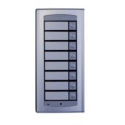 AGL100T Front panel with eight buttons AGORA light