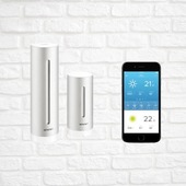 . . . . #smarthometechnology #smarthomesystem #smart #netatmo #bticino #smartcamera #security #securitysystem #new #smartphone #apple #sun #weather #rain